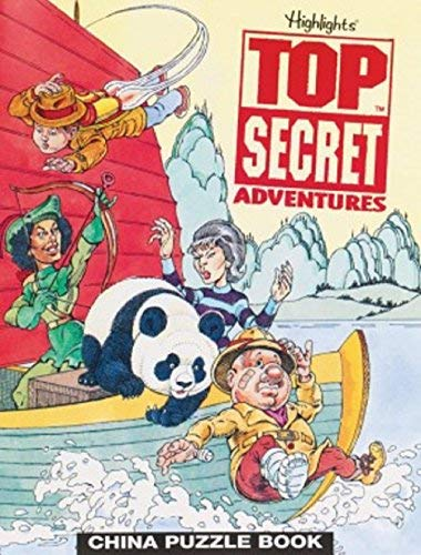 China Puzzle Book (Highlights Top Secret Adventures)