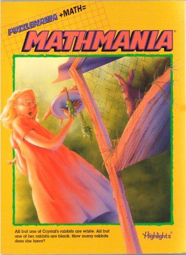Mathmania: Puzzlemania + Math (Crystal's Rabbits Cover): Jeff O'Hare