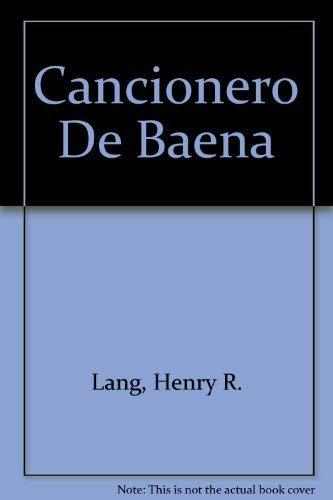 9780875351162: Cancionero De Baena