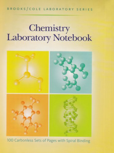 9780875402475: General Chemistry Laboratory Notebook