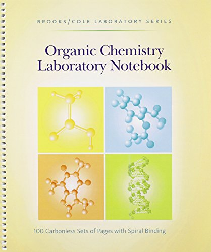 9780875402536: Organic Chemistry Laboratory Notebook (Brroks/Cole Laboratory Series)