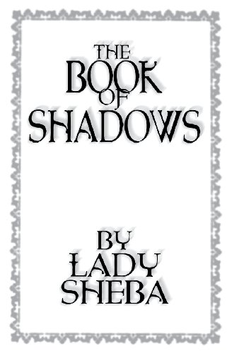 9780875420752: The Book of Shadows by Lady Sheba