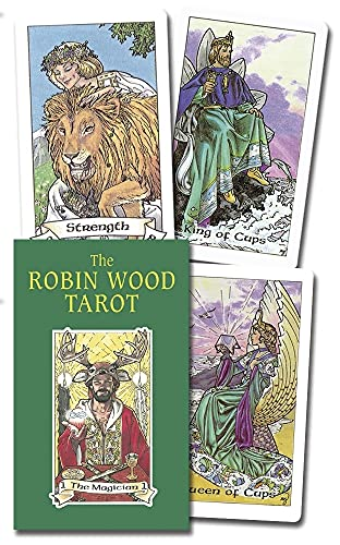 9780875428949: The Robin Wood Tarot