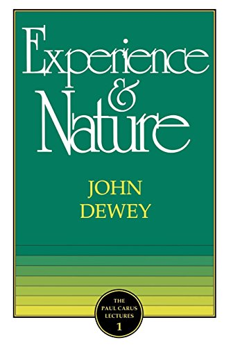 9780875480978: Experience and Nature (Paul Carus Lectures)