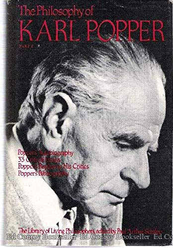 9780875481418: The Philosophy of Karl Popper, Part 1 (The Library of Living Philosophers) (v. 1)