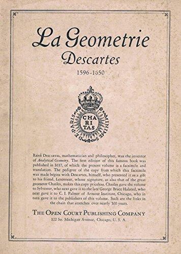9780875481685: The Geometry of Rene Descartes