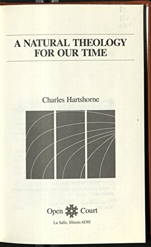 9780875482385: A Natural Theology for Our Time