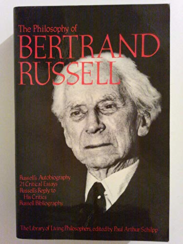 9780875482873: The Philosophy of Bertrand Russell