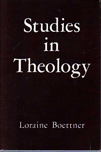 9780875521312: Studies in Theology