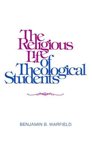9780875525242: The Religious Life of the Theological Student