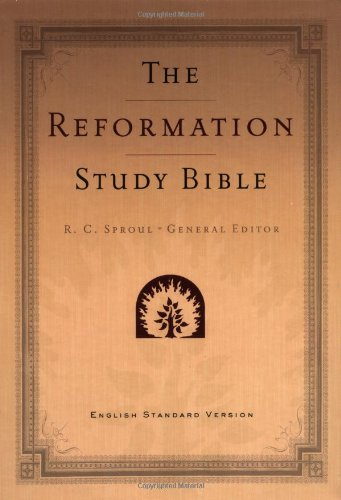 9780875526430: The Reformation Study Bible: English Standard Version