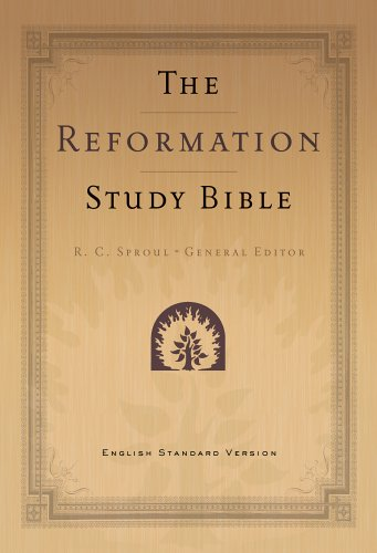 9780875527864: Reformation Study Bible-ESV (Black)