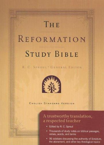 9780875527871: Reformation Study Bible-ESV (Burgundy)