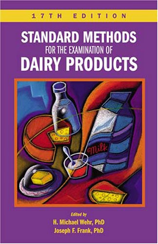 9780875530024: Standard Methods for the Examination of Dairy Products