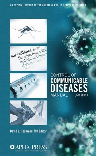 9780875530185: Control of Communicable Diseases Manual