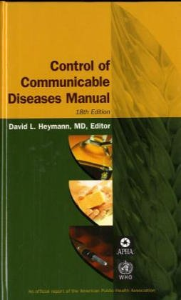 9780875530352: Control Of Communicable Diseases Manual