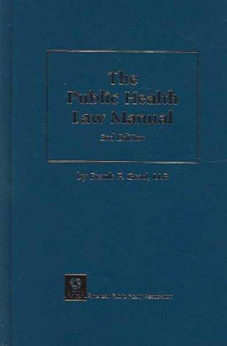 9780875530420: The Public Health Law Manual