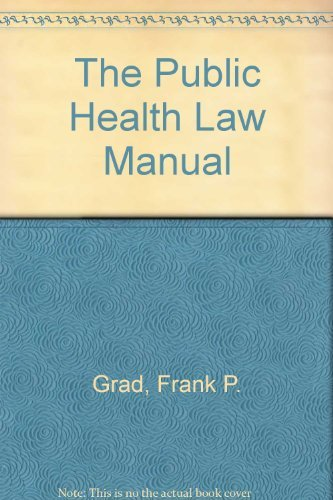 Public health law manual - AbeBooks