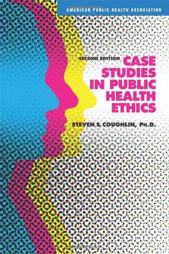 9780875531946: Case Studies in Public Health Ethics