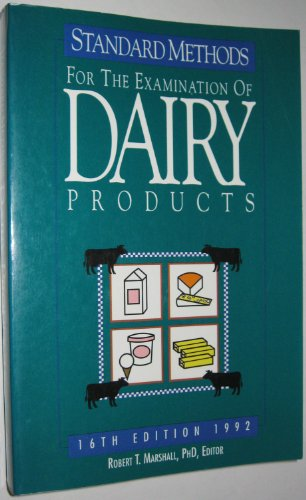 9780875532103: Standard Methods for the Examination of Dairy Products: 1992
