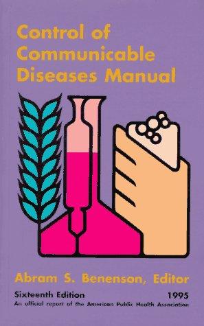9780875532226: Control of Communicable Diseases Manual 1995: 5 Prepack