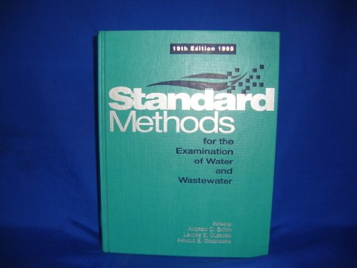 9780875532233: Standard Methods for the Examination of Water and Wastewater