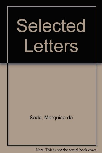 9780875560458: Selected Letters