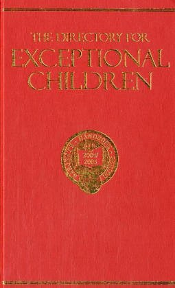 9780875581507: The Directory for Exceptional Children: A Listing of Educational and Training Facilities