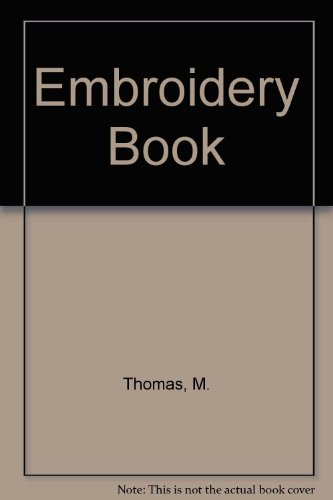 9780875591100: Embroidery Book