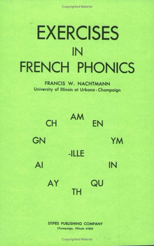 9780875632155: Exercises in French Phonics