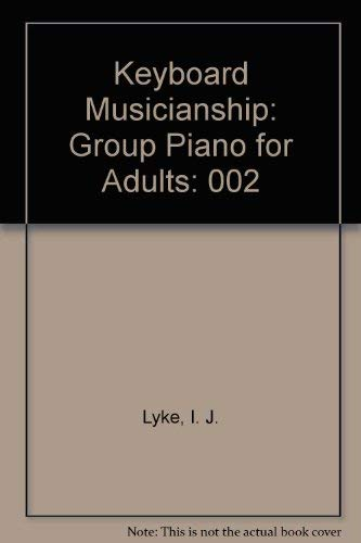 9780875633435: Keyboard Musicianship: Group Piano for Adults, Book 2