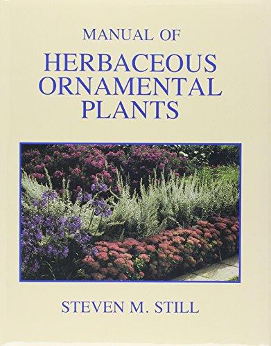 9780875634333: Manual of Herbaceous Ornamental Plants