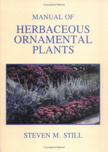 9780875634340: Manual of Herbaceous Ornamental Plants