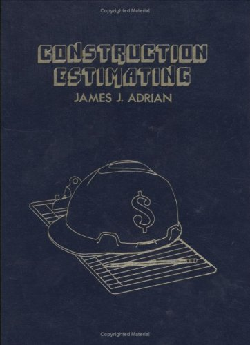 9780875634395: Construction Estimating: An Accounting and Productivity Approach