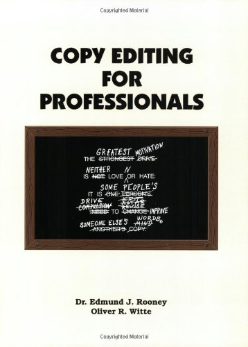 9780875638966: Copy Editing for Professionals