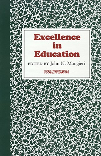 9780875650203: Excellence in Education