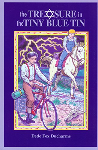 9780875651804: The Treasure in the Tiny Blue Tin (Chaparral Books)