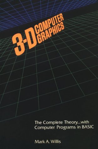 9780875670416: 3-D Computer Graphics Perspective Drawing With the Computer