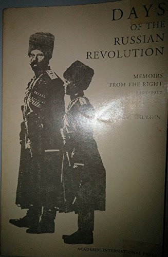 9780875691152: Days of the Russian Revolution: Memoirs from the right, 1905-1917 (The Russian series)