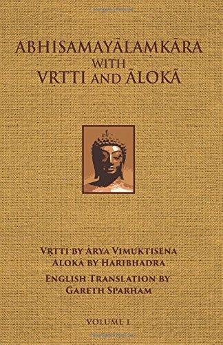 9780875730110: Abhisamayalamkara with Vrtti and Aloka - Vol. 1