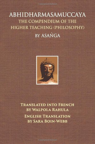 9780875730202: Abhidharmasamuccaya: The Compendium of the Higher Teaching (Philosophy)
