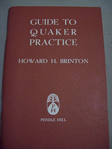 9780875740201: Guide to Quaker Practice