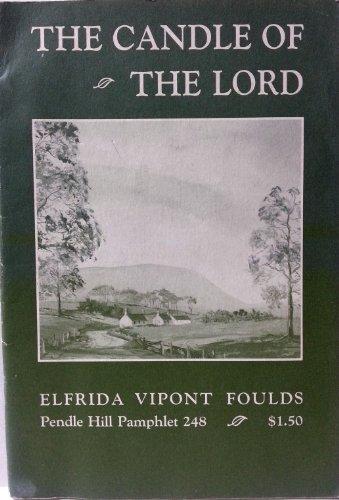 Beispielbild für The candle of the Lord (Pendle Hill pamphlet) zum Verkauf von Downtown Atlantis Books