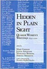 9780875749235: Hidden in Plain Sight: Quaker Women's Writings, 1650-1700