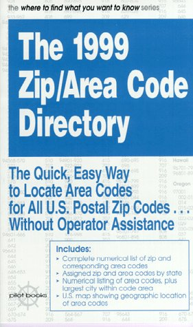 9780875762548: The Zip/Area Code Directory 1999 (serial)