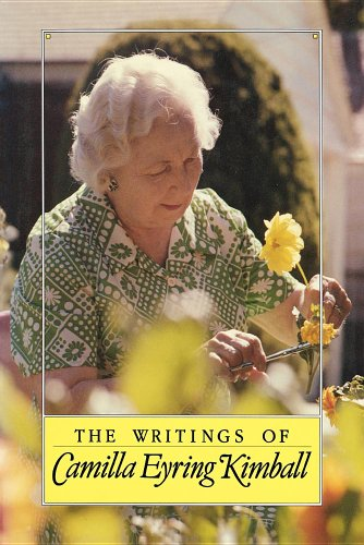9780875791432: The writings of Camilla Eyring Kimball