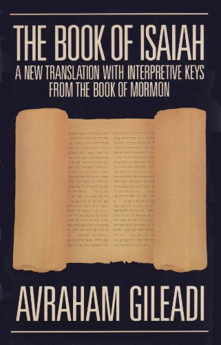 9780875792798: The Book of Isaiah: A New Translation with Interpretive Keys From the Book of Mormon