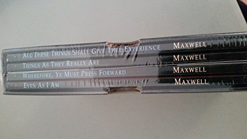 Neal Maxwell, Four Vol. Boxed Set: Wherefore, Ye Must Press Forward, All These Things Shall.