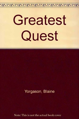9780875796932: Greatest Quest