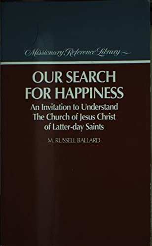 9780875798998: Our Search for Happiness
